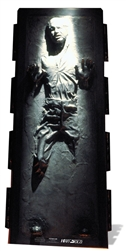 Star Cutouts Han Solo - Carbonite Star Wars Official Lifesize Cardboard Cutout