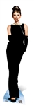 Star Cutouts Ltd SC527 Audrey Hepburn Lifesize Cardboard Cutout Perfect for 1950s and 1960s Parties, Milestone Birthdays, Gifting, Fans and Events Height 176cm