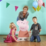 Star Cutouts Peppa Pig Star-Mini Cardboard Cutout