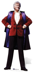 Manufactured by Star Cutouts Jon Pertwee (3rd Doctor) Official Doctor Who Lifesize Cardboard Cutout
