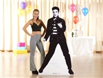 Star Cutouts Official Elvis Presley Jailhouse Rocks Lifesize Cardboard Cutout