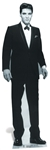 Star Cutouts Ltd SC576 Elvis Presley Tuxedo The King of Rock N Roll Lifesize Cardboard Cutout Perfect Fun for Elvis Fans Height 178cm