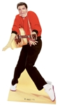 Star Cutouts Elvis Presley Red Jacket & Guitar Official Lifesize Cardboard Cutout