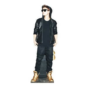 JUSTIN BIEBER (GOLD SHOES)