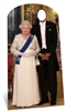 Star Cutouts Royal Family Stand In Adult Size The Queen