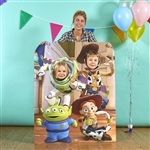Star Cutouts Disney Pixar Toy Story Stand In Buzz Lightyear Woody Jessie Little Green Man