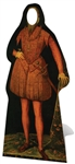 Official Star Cutouts Tudor Man Stand-In Lifesize Cardboard Cutout