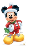 Star Cutouts Disney Christmas Mickey Mouse Winter Hat and Scarf Star-Mini