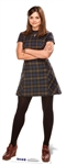 Star Cutouts Clara Oswald Jenna Coleman Doctor Who Official Lifesize Cardboard Cutout