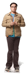 Dr Leonard Hofstader The Big Bang Theory Official Lifesize Cardboard Cutout