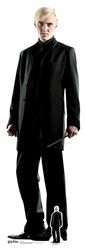 Star Cutouts Draco Malfoy (Harry Potter) 178cm tall 55cm wide comes with free table top cut out.