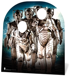 Star Cutouts Cyberman Stand In (child) Doctor Who Cardboard Cutout