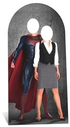 Superman & Lois Lane Stand-In