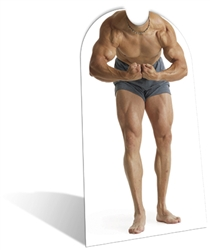 Muscle Man 'Stand-In' Lifesize Cardboard Cutout