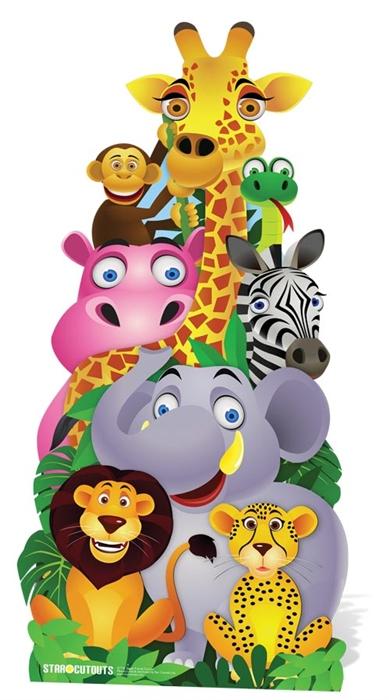 2b51e242408a Jungle Friends Cut-out