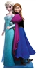 Star Cutouts Disney Anna and Elsa Frozen Double Lifesize Cutout