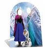 Star Cutouts Ltd SC761 Frozen Stand-In Cardboard Cutout Child Sized Perfect for fans of the Frozen Movies, Christmas and Winter Magic Height 134cm