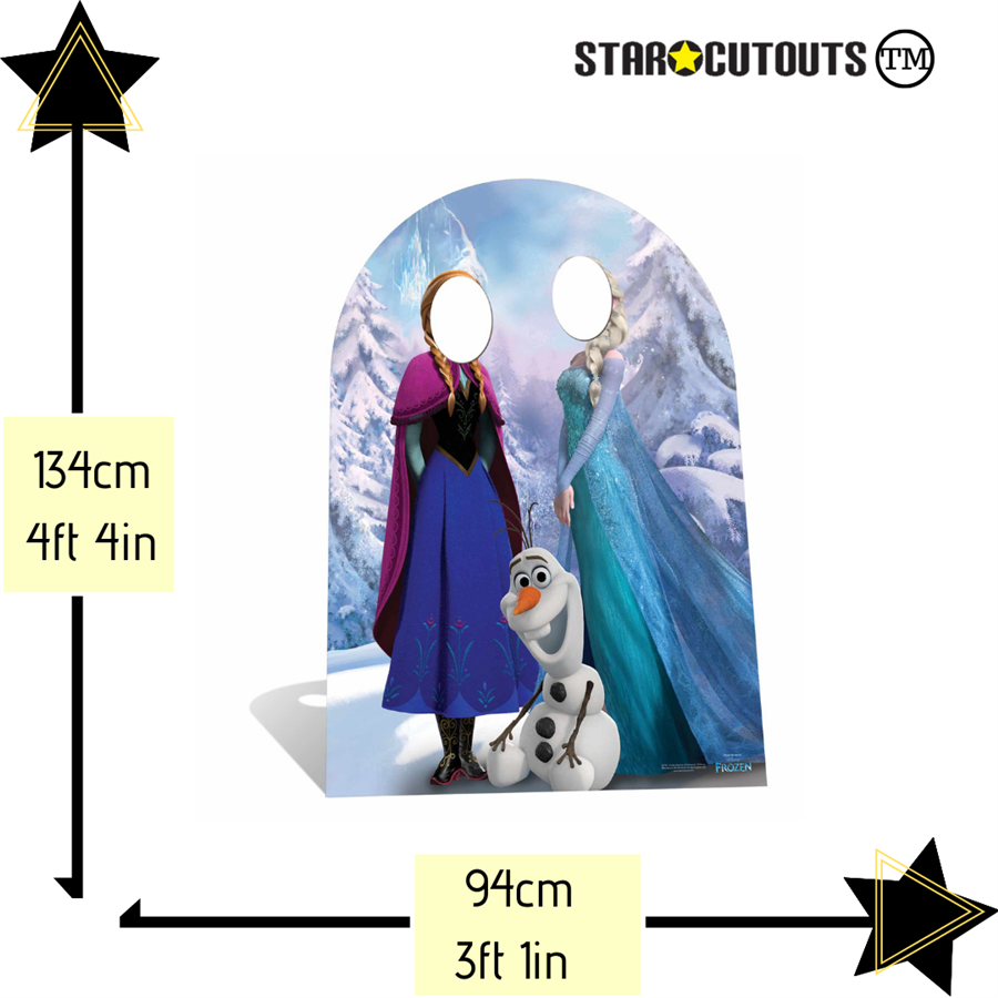 Christmas Stand In Cutouts.Star Cutouts Ltd Sc761 Frozen Stand In Cardboard Cutout