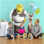 Star Cutouts Official Dreamworks Shrek Large Lifesize Cardboard Standee