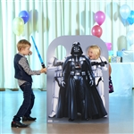 Darth Vader and Stormtroopers Star-Wars Stand-in (Child-Sized)