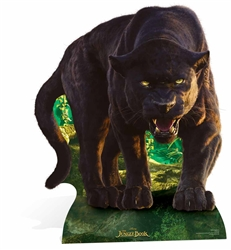 Bagheera (Black Panther) Live Action Jungle Book Lifesize Cardboard Cutout