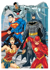 Star Cutouts Justice League Stand-IN Animated Child Size Cardboard Cutout DC Comics