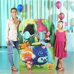 Star Cutouts Trolls Child Size Stand-In (Can't Stop the Feeling Left)