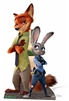 Officer Judy with Sidekick Nick Cutout
