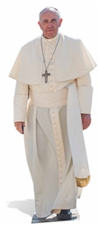 Star Cutouts Pope Francis