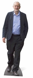 SC941 Jeremy Corbyn Labour Party Lifesize Cardboard Cutout 175cm Tall