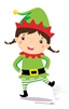 Star Cutouts Ltd SC985 Mini Christmas Elf Cardboard Cutout/ Stand Up/ Standee Perfect for Childrens Christmas Parties and Events Height 82cm