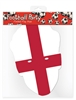 Star Cutouts England Flag Mask Football Sporting Event