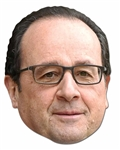 Francois Hollande SINGLE MASK