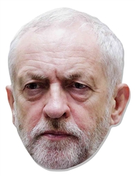 JEREMY CORBYN SINGLE MASK