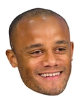 Star Cutouts Vincent Kompany MASK Football Sporting Event