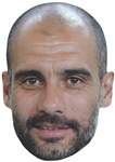 Star Cutouts Pep Guardiola SINGLE MASK
