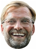 Star Cutouts Jurgen Klopp SINGLE MASK