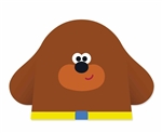 Star Cutouts Hey Duggee MASK