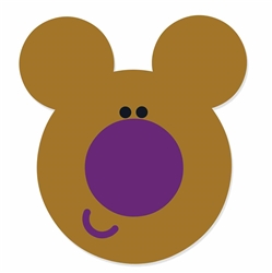 Star Cutouts Norrie (Hey Duggee) MASK