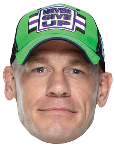 Star Cutouts SM294 John Cena WWE Mask Great fun for family, friends and fans.