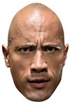 SM297 The Rock WWE Mask Great fun for family, friends and fans.