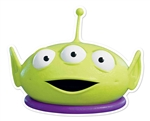 Little Green Man Fun Face Mask for Children for Birthdays, Fans & Disney Toy Story Parties   Great Talking Point