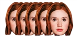 Amy Pond - Face Mask Six Pack