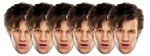 Doctor Who (Matt Smith) - Face Mask Six Pack
