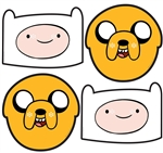 Adventure Time Multi 4 Pack (2x Finn