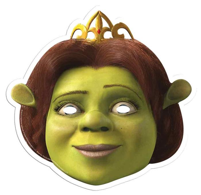 Star Cutouts Silhouette smp353/Shrek Masque en Carton Lot de 6