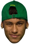 Six pack masks of Neymar Football World Star