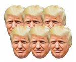 DONALD TRUMP SIX PACK MASKS
