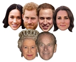 Royal Couples- 6 Pack Masks