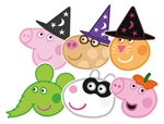 Peppa and Friends (6 Pack) Halloween Party Pack